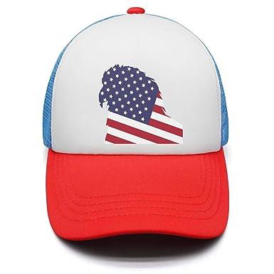 USA Flag Eagle Casual Baseball Hat Embroidered Snapback Adjustable Cap Outdoor 1