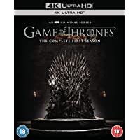 Game of Thrones: The Complete Season 1 (4K UHD) (4-Disc Box Set) (Fully Packaged Import)