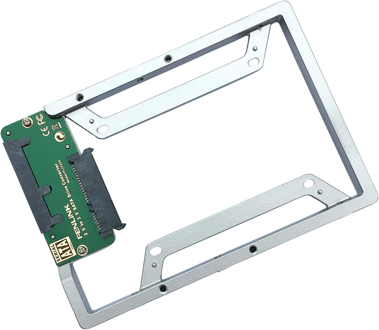 "Fenlink 2.5"" to 3.5"" Internal SSD Hard Drive SATA Drive Converter (Silver)"