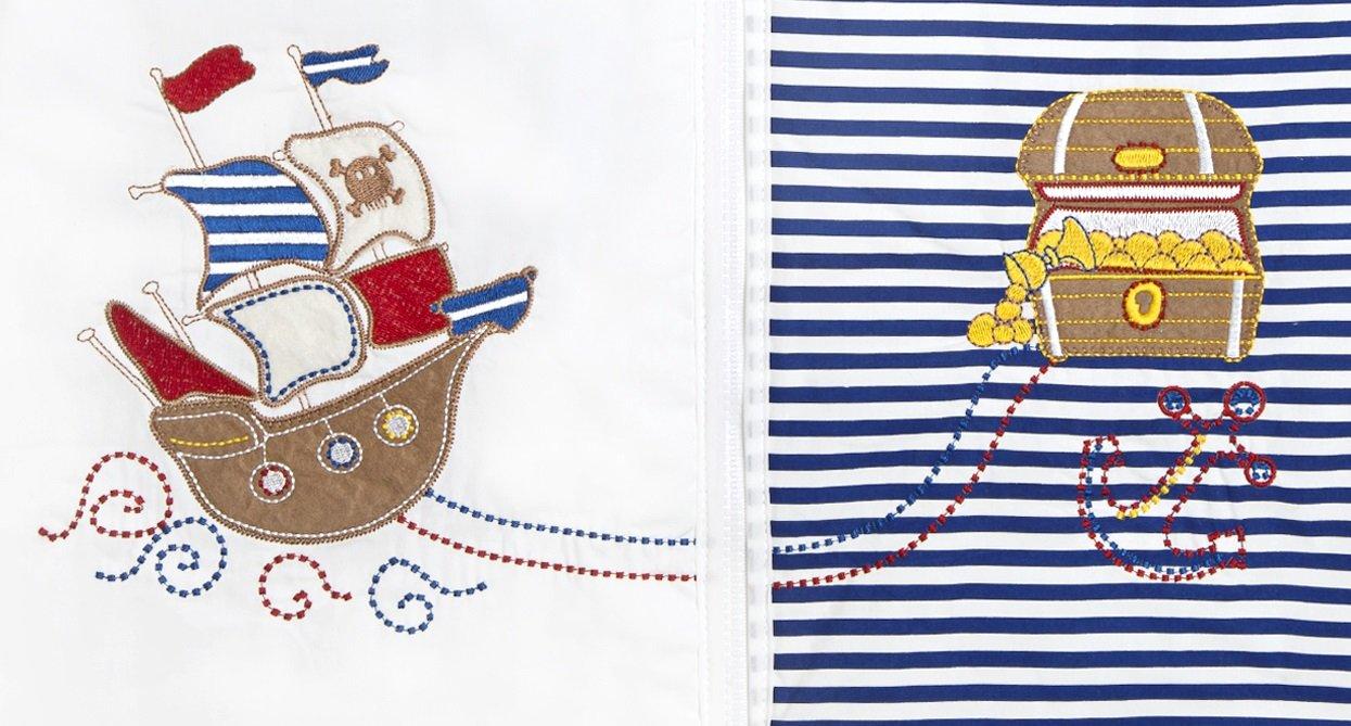 Pirate 18-36 Months//Large Slumbersafe Summer Toddler Sleeping Bag 0.5 Tog