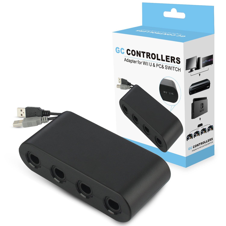 Wii U Gamecube Controller Adapter,YTEAM Gamecube NGC Controller Adapter for Wii U,Nintendo
