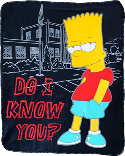 Los Simpson - Manta (125 x 150 cm) https://amzn.to/2VV4ARh