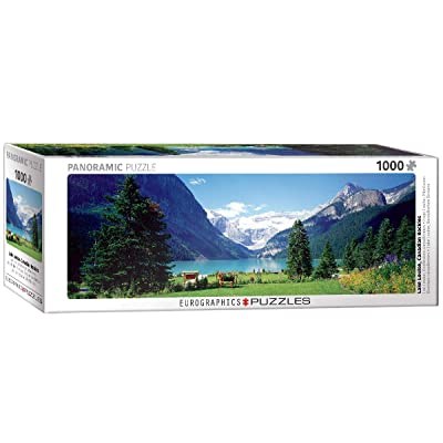 EuroGraphics Lake Louise Canadian Rockies 1000-Piece Puzzle: Toys & Games