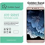 Golden Sand&Trade Eco Series Tempered Screen Protector For Leeco Le Max 2 / Letv Le Max2 - Smooth Touch 2.5D Round Edge