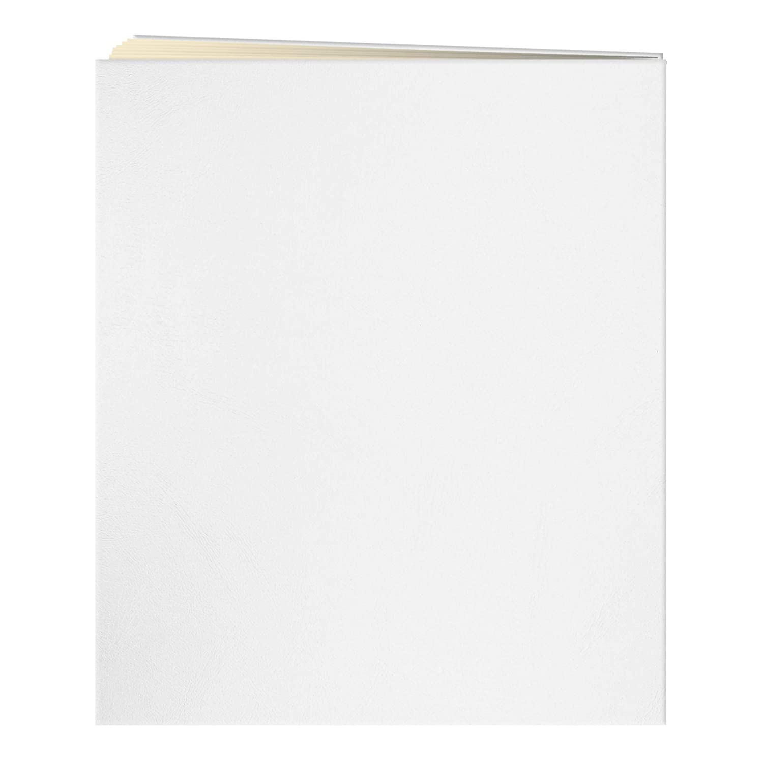 50 Sheets Navy Blue Jumbo 11.75x14 Beige Page Scrapbook 100 Pages
