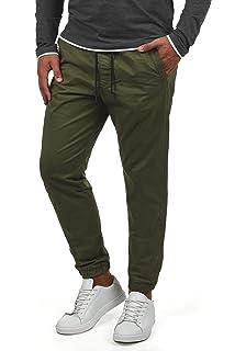 WOLDO Athletic Herren Chino Hose Stoffhose Jogger Sneaker Pants mit Bündchen
