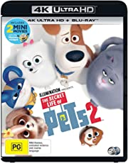 The Secret Life of Pets 2 [2 Disc] (4K Ultra HD + Blu-ray)