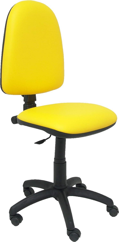Piqueras Y Crespo 04CPSPV79N - Silla de oficina de contacto permanente, Rojo Naranja WtUzTM