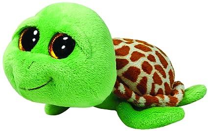 Amazon.com  Ty Beanie Boos Zippy Green Turtle Plush  Toys   Games 050c39b4a25