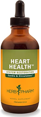 Herb Pharm Heart Health Liquid Herbal Formula with Hawthorn for Cardiovascular System Support – 4 Ounce
