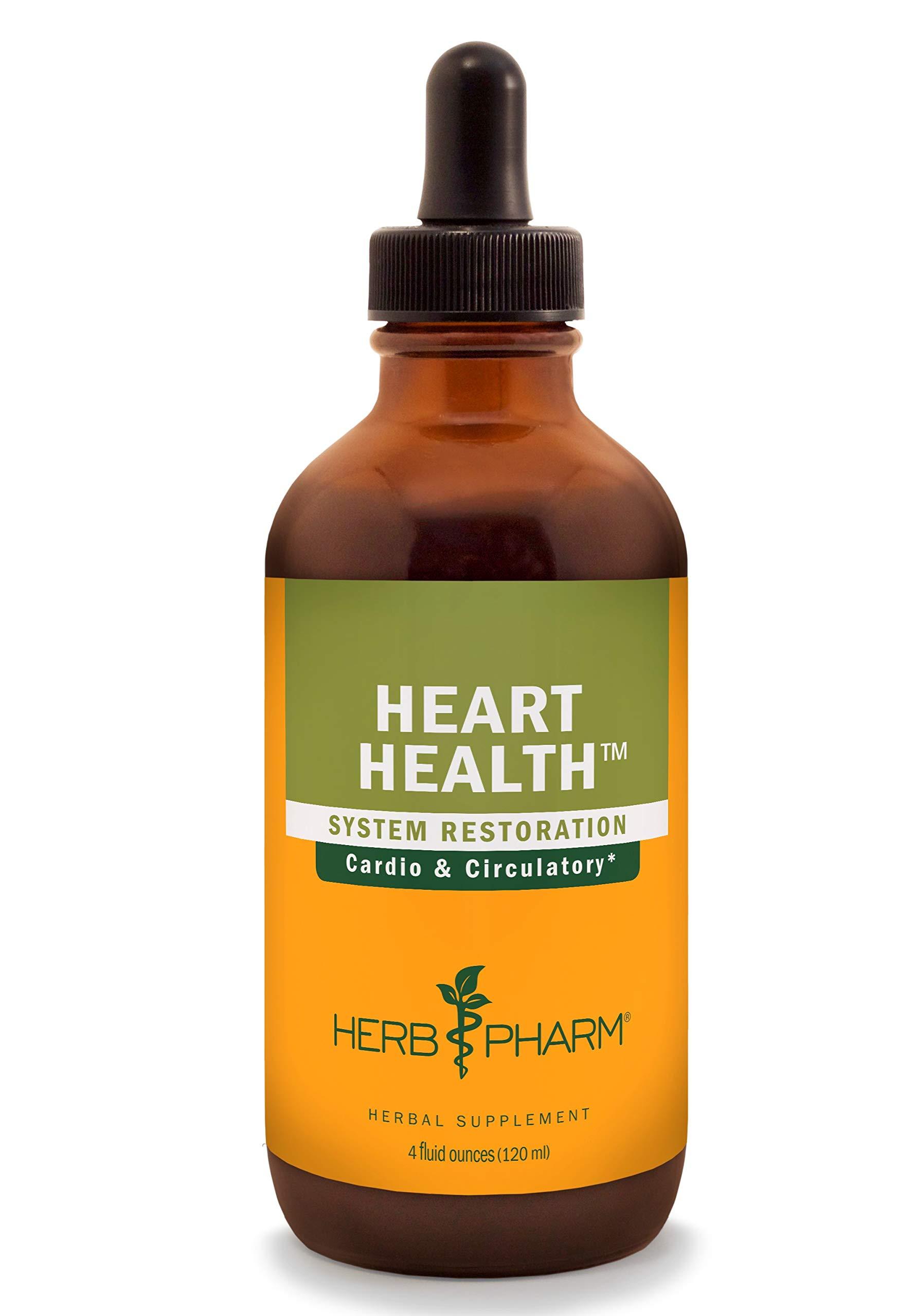 Herb Pharm Heart Health Liquid Herbal Formula with Hawthorn for Cardiovascular System Support - 4 Ounce by Herb Pharm
