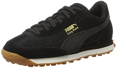 Puma Easy Rider Natural Warmth, Sneakers Basses Mixte Adulte, Noir (Black-Whisper White), 37.5 EU