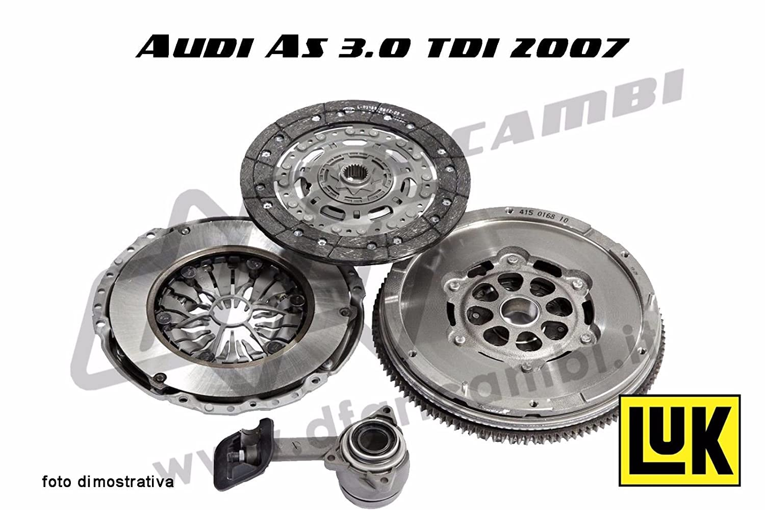 SACHS Clutch Kit 3in1 Xtend Audi A4,A5 3.0TDi - 3000950721: Amazon.es: Coche y moto