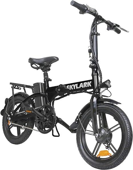 Bicicleta eléctrica Plegable Nakto de 16