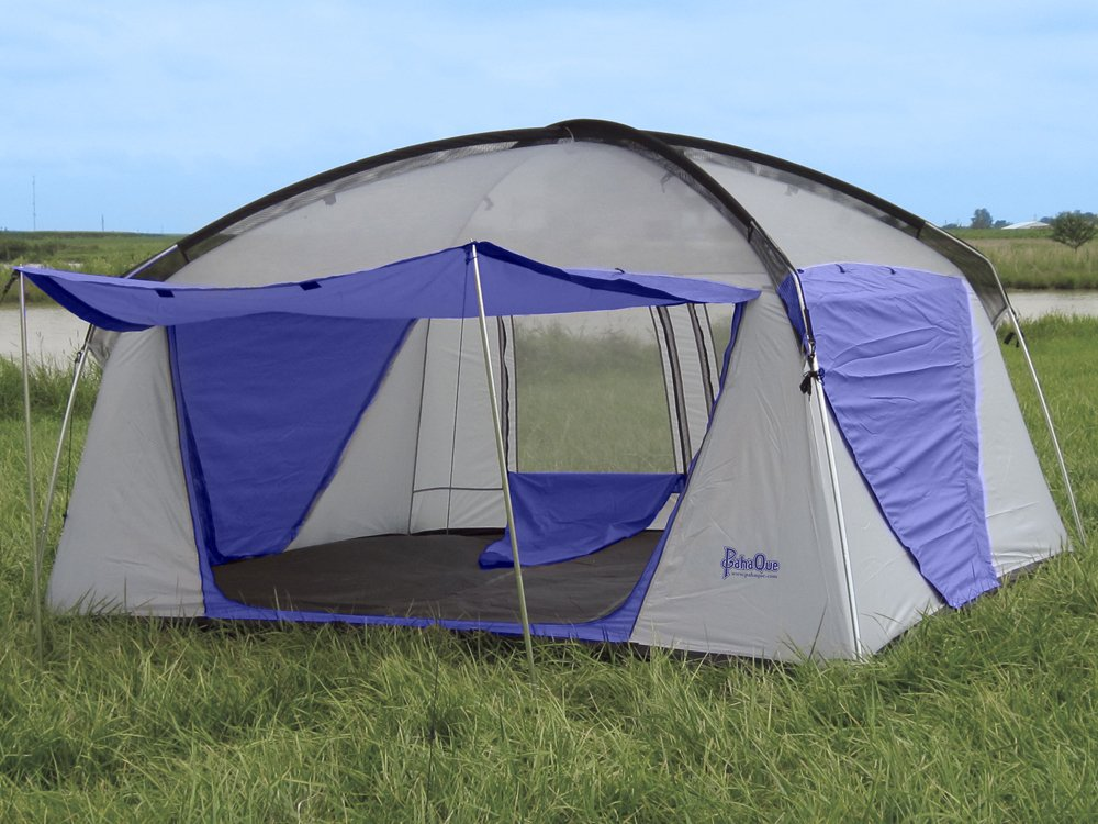 Amazon.com  PahaQue Wilderness Promontory XD Tent-8 Person (Silver/Blue 12 x 10 x 8-Feet)  Family Tents  Sports u0026 Outdoors & Amazon.com : PahaQue Wilderness Promontory XD Tent-8 Person ...