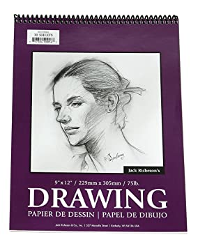 Jack Richeson 12x18 Inch Charcoal Drawing Paper Pad