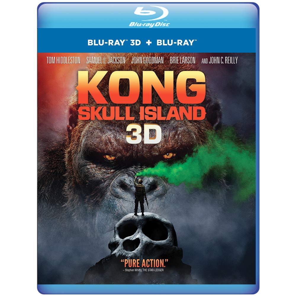 Kong: Skull Island (3D Blu-ray + Blu-rayCombo Pack)