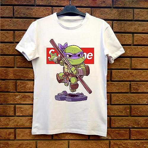 Amazon.com: Supreme Donatello Ninja Turtle Chibi Fan Gift T ...