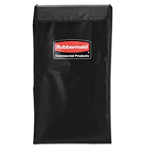 Rubbermaid Commercial Executive Series Collapsible Replacement Basket, 4-Bushel (1881782) (Pack of 2)