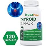 Thyroid Support Supplement for Hypothyroidism - (Vegetarian) - A Complex Blend of Vitamin B12, Iodine, Zinc, Selenium, Ashwagandha Root, Copper, & More - 30 Day Supply