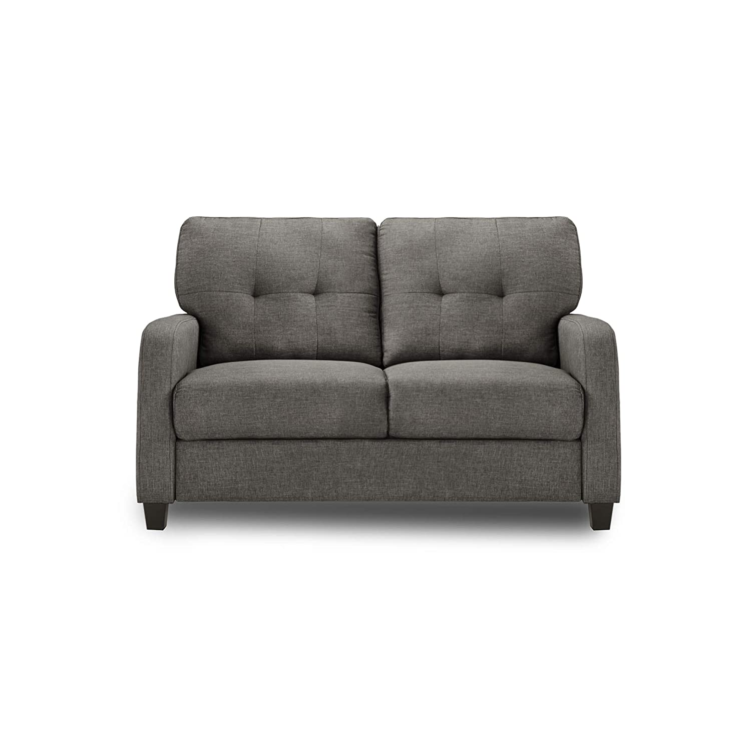Adorn India Astor Two Seater Sofa (Grey)