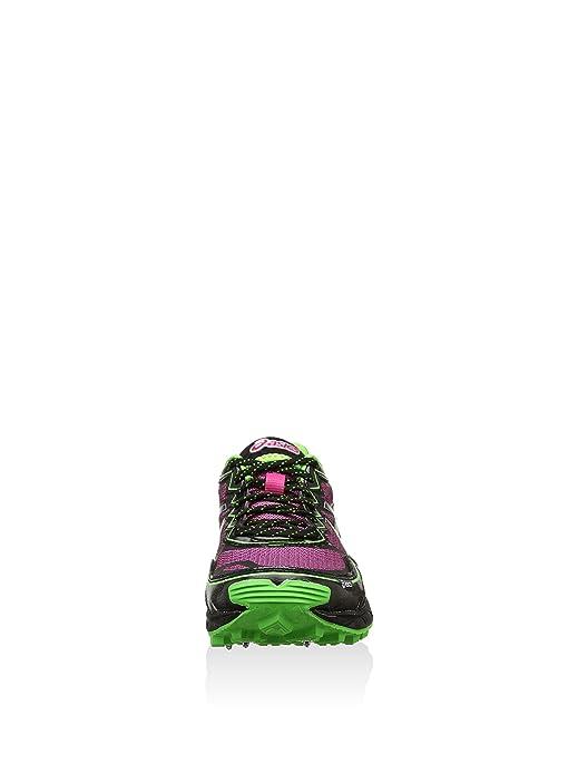 ASICS Damen Trail Gel Fujisetsu Sportschuh, rosaschwarz