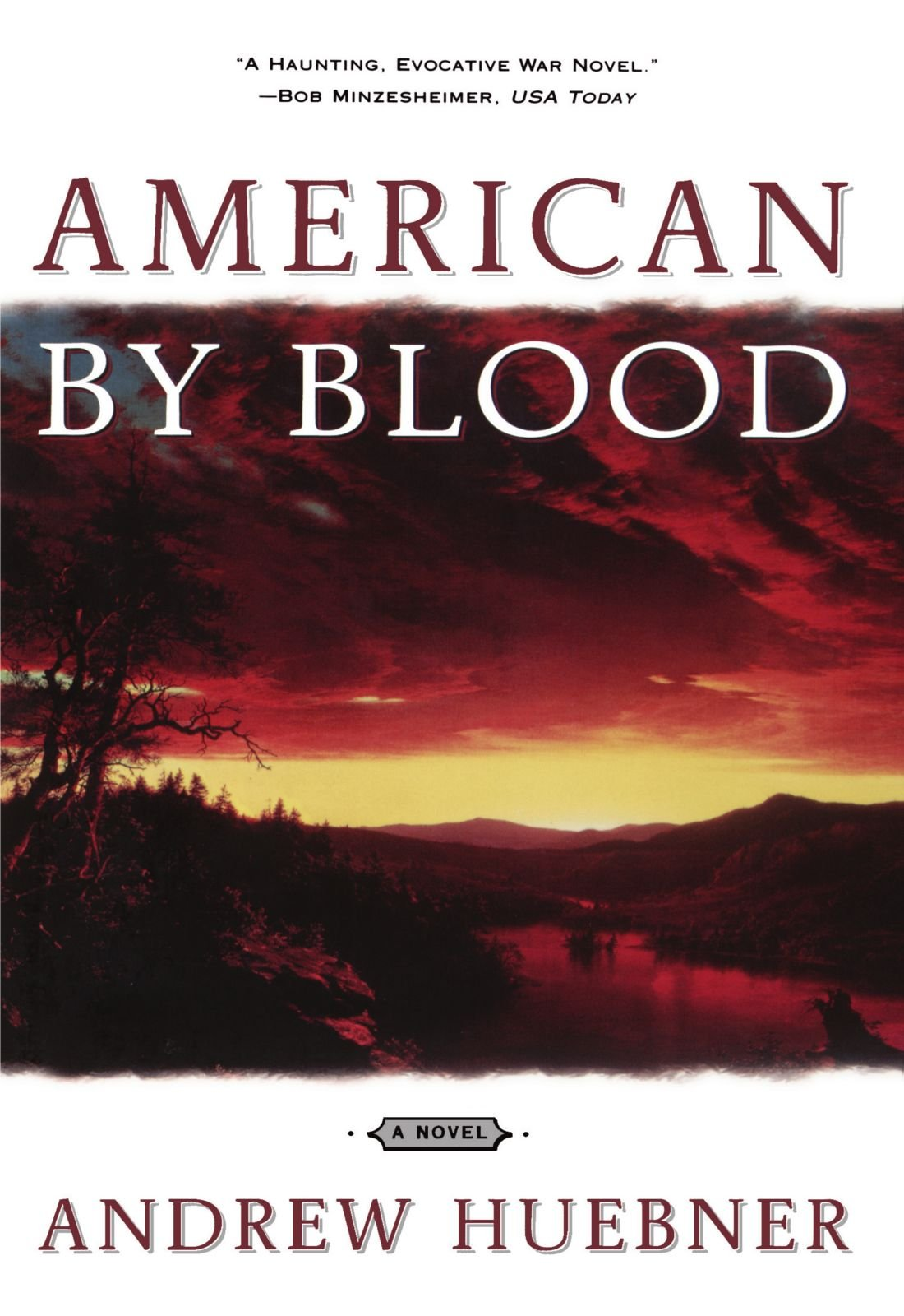 Amazon: American By Blood: A Novel (9780684857718): Andrew Huebner:  Books