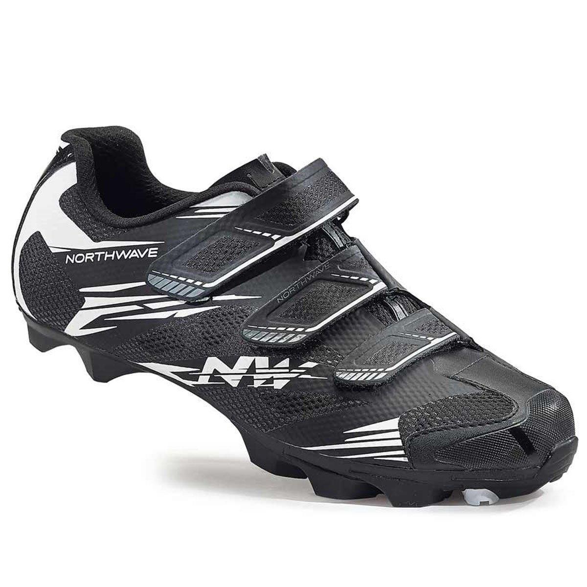 ノースウェーブScorpius 2 black-white靴2016 46  B013FIZF9E