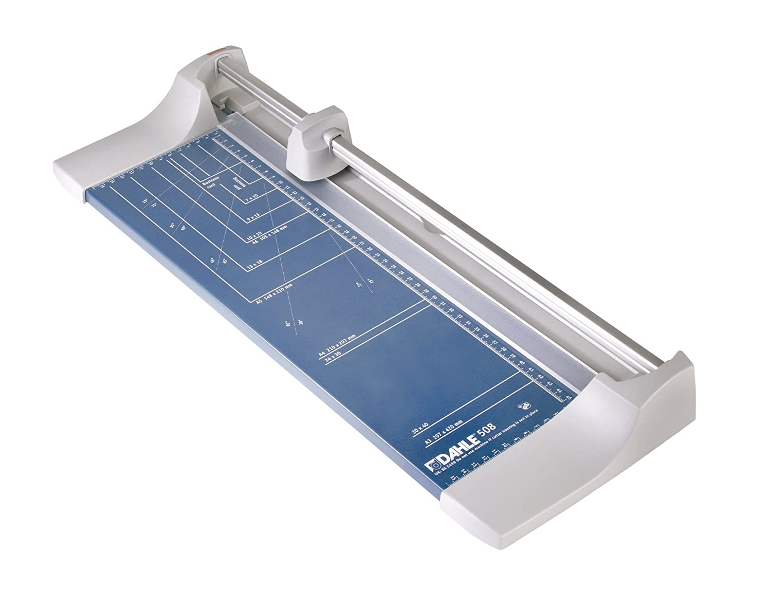 Dahle A3 Personal Trimmer 460mm Cutting Length/ 0.6mm Cutting Capacity - Blue DH508