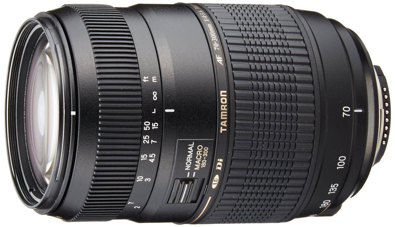 Tamron Auto Focus 70-300mm f/4.0-5.6 Di LD Macro Zoom Lens with Built In Motor for Nikon Digital SLR (Model A17NII) (International Model) No Warranty