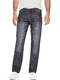 GUESS Mens Slim Straight Jeans at Amazon Mens Clothing store