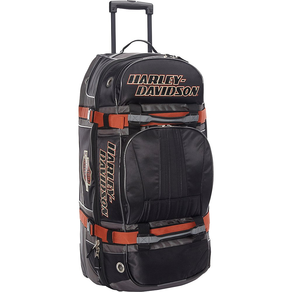 Harley Davidson 33'' Wheeled Equipment Duffel, Black