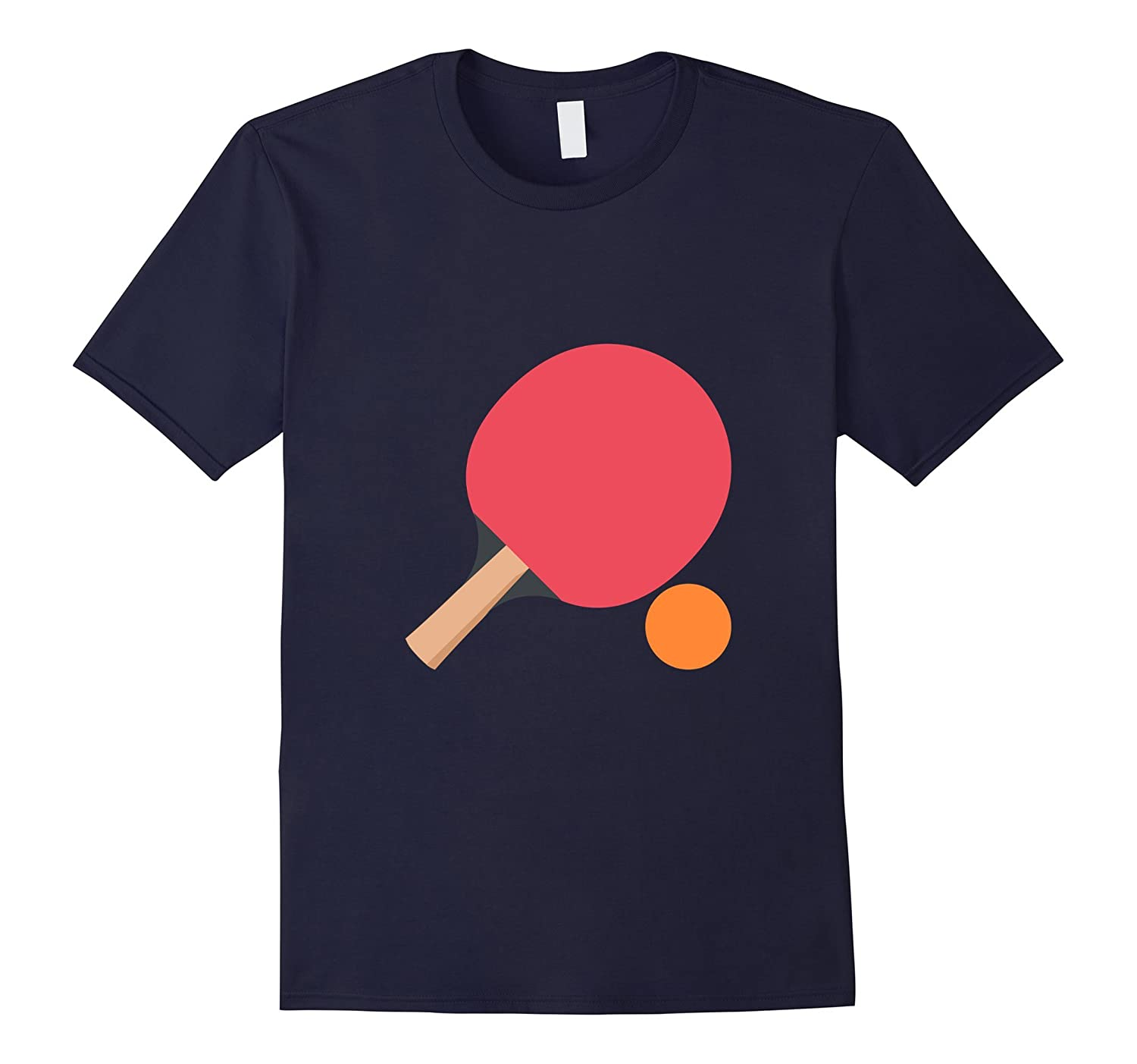 I Love Ping Pong Game Heart Table Tennis T-shirt Gift Tee-Vaci