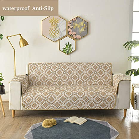 Astounding Amazon Com Quilted Sofa Cover Pets Children Waterproof Theyellowbook Wood Chair Design Ideas Theyellowbookinfo