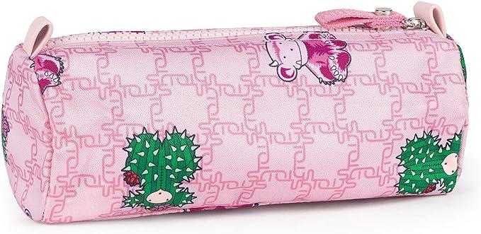 TOUS Estuche School Logogram color rosa: Amazon.es: Oficina y papelería