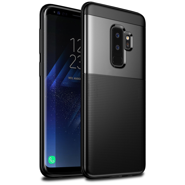 Samsung Galaxy S9 Plus Case Ivencase Soft Silicone Resilient Iphone Xs Spigen Geometric Pattern Softcase Liquid Air Casing Flexible Tpu Anti Scratchanti Slipeasy Grip With Reinforced Hard