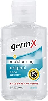 48-Pack Germ-X Fresh Citrus Hand Sanitizer, 2 Fluid Ounce Bottles