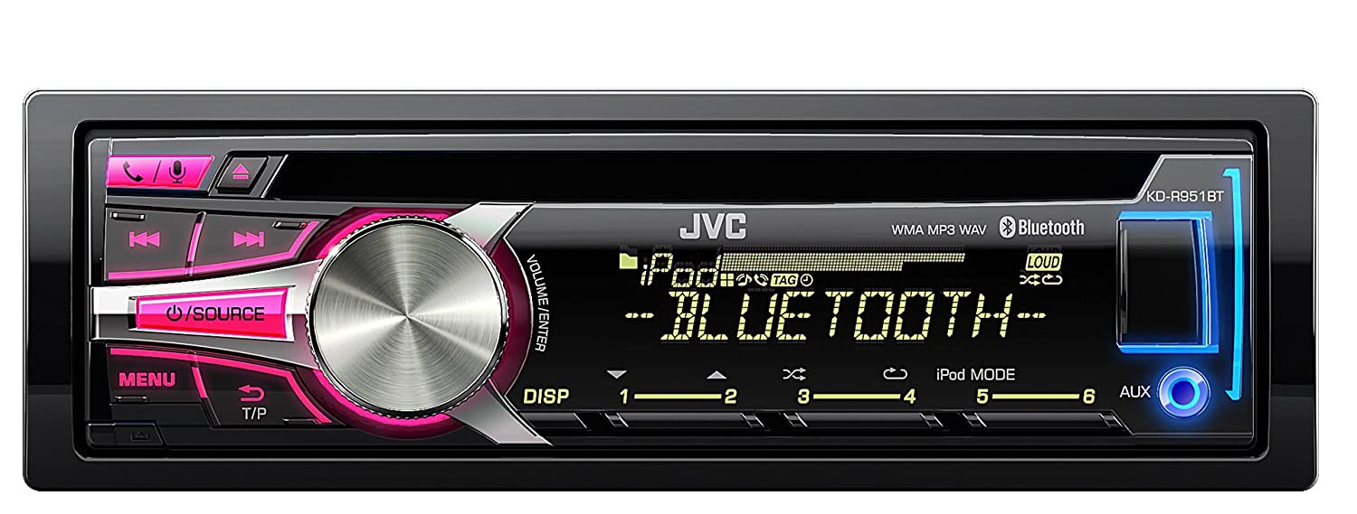 Jvc kd r432 cd usb car stereo system front usb aux input - Jvc Kd R951bt Bluetooth Car Stereo With Usb Aux Input Amazon Co Uk Electronics