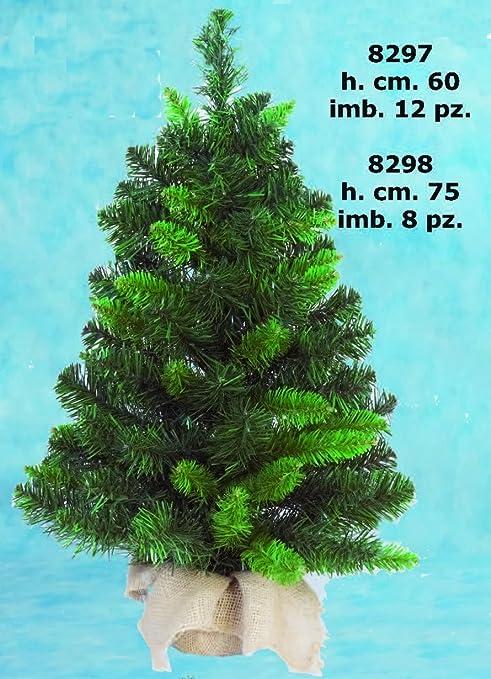Albero Di Natale Juta.Albero Di Natale Pinetto Con Base Juta 60 Cm Amazon It Casa E Cucina