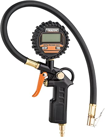 Digital Tire Pressure Gauge Handheld Heavy Duty Tire Gauge 3-150 PSI Settings for Car Truck SUV Motorcycle