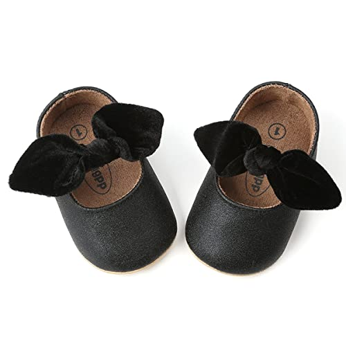75a2d1510269 Z-T FUTURE Infant Baby Girls Shoes Cute Bow Diamonds Sparkly Mary Jane Crib  Dress Princess Shoes
