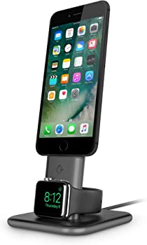 Twelve South HiRise Duet Dual Charging Stand for iPhone & Apple Watch