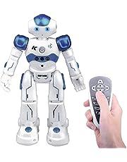 Remote Control Rc Robot Toy Gift, Kuman Smart Robotics Kits Walking Sing Dancing Programmable and Gesture Sensing (Remote Control Rc Robot)