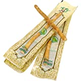 Al Fajr Natural Herbal Toothbrush Miswak Sticks (Brown, compact-head) - Box of 10