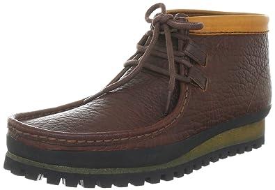 best service 431a9 9de48 Clarks Wallabee Low Boots Mens Brown Braun (Chestnut Leather ...