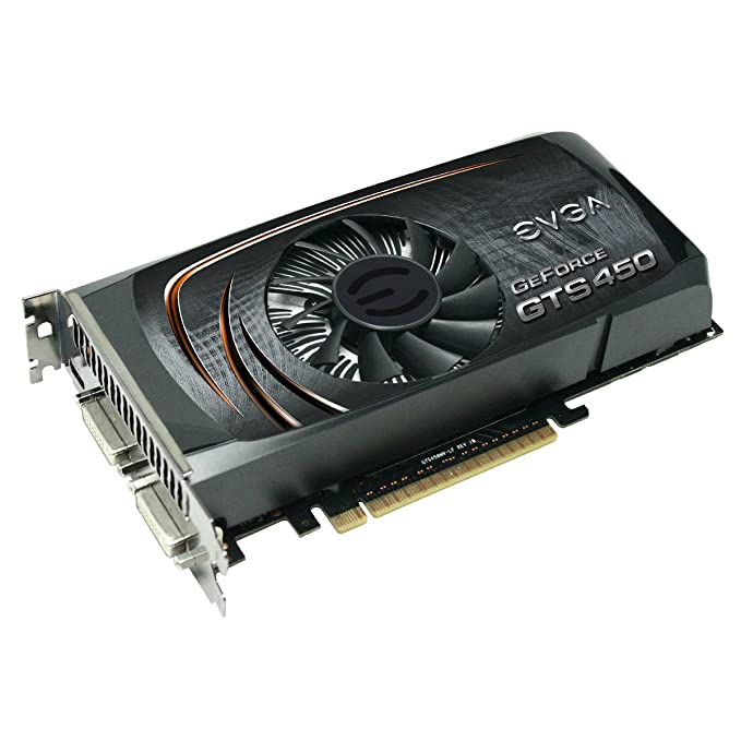 EVGA GeForce GTS 450 Superclocked 1024 MB GDDR5 PCI Express 2.0 2DVI/Mini-HDMI SLI Ready Graphics Card, 01G-P3-1452-TR