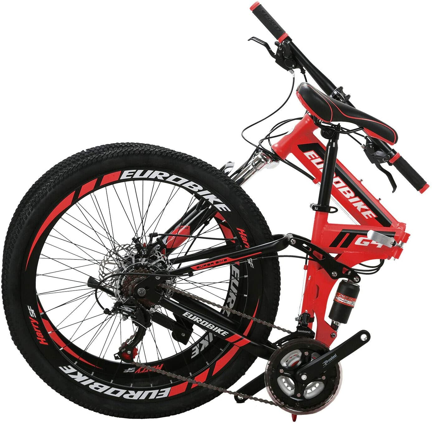 Eurobike 26 Inch Mountain Bike Folding Bicycle