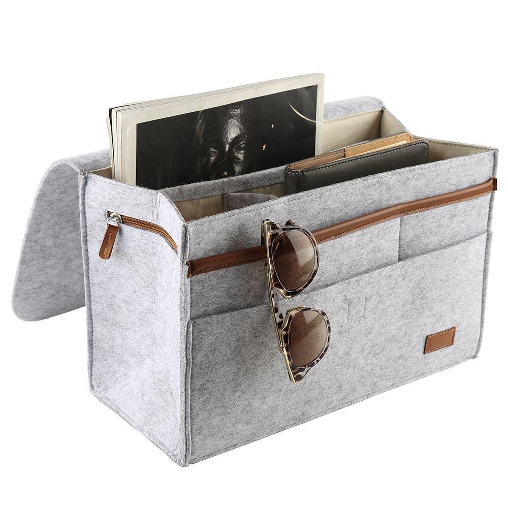 Richards Homewares 6 Pocket Bedside Storage Mattress Book Remote Sufficient Supply Home & Garden Household Supplies & Cleaning