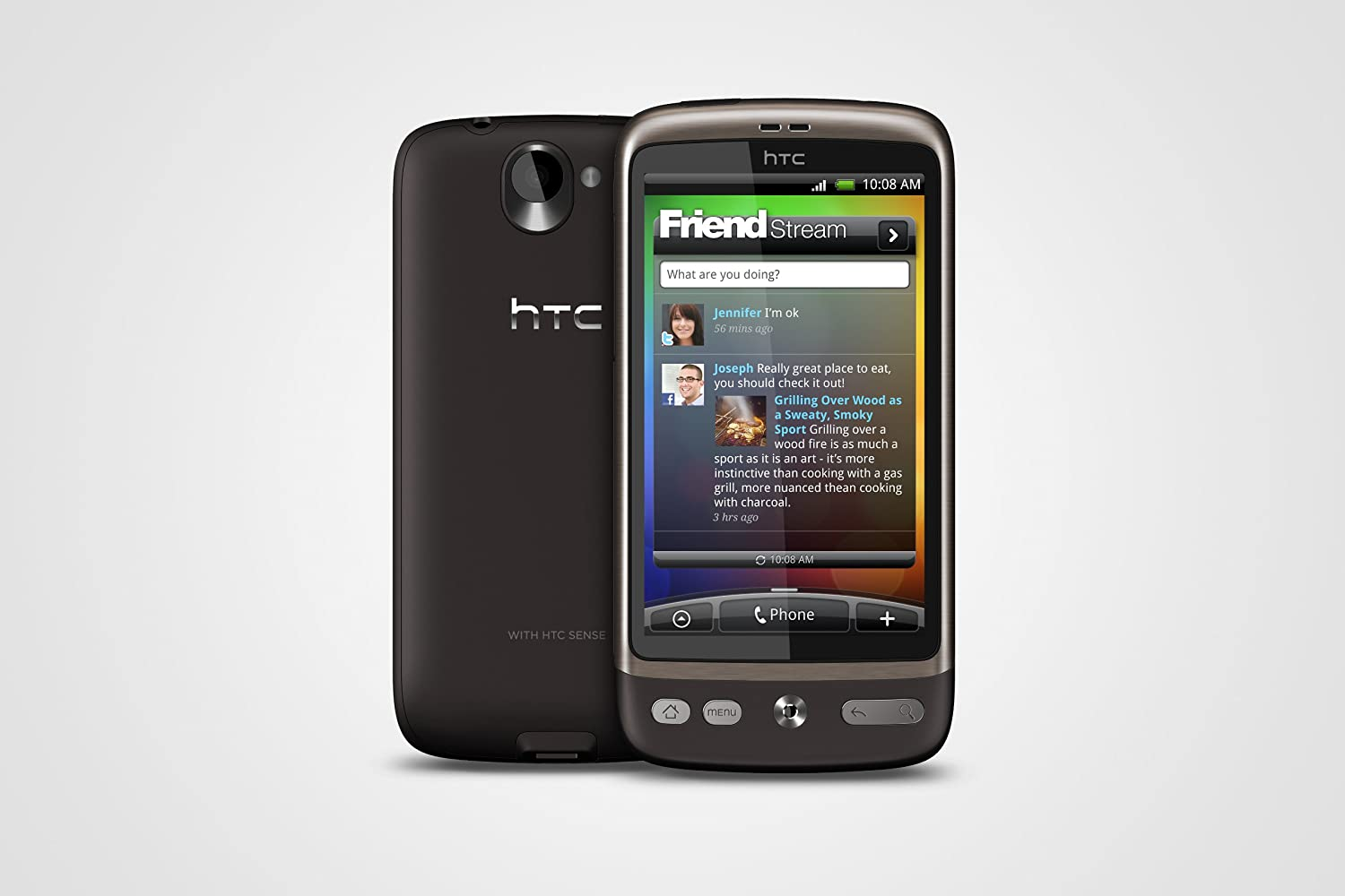 HTC Desire - Smartphone - 3G - WCDMA (UMTS) / GSM - touch - Android:  Amazon.co.uk: Electronics