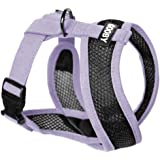 Gooby - Active X Head-in Harness, Choke Free Small Dog Harness with Synthetic Lambskin Soft Strap